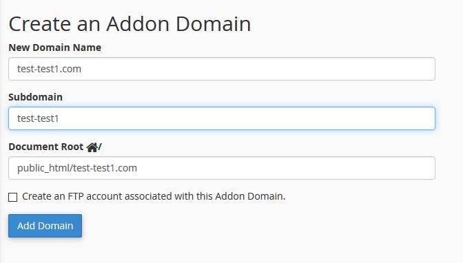 آموزش Park Domain و Addon Domain و Redirects دامنه