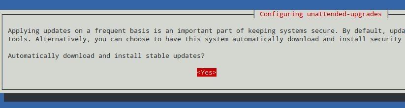نصب اتوماتیک آپدیت های امنیتی اوبونتو